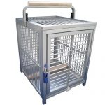 Kings Cages aluminium bird travel cage