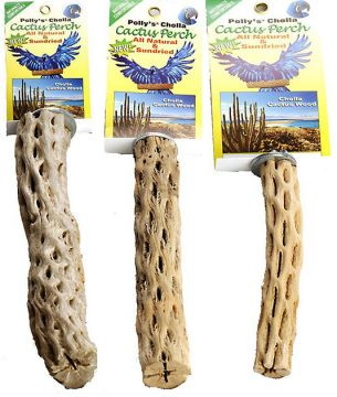 Large, medium & small Cholla perches