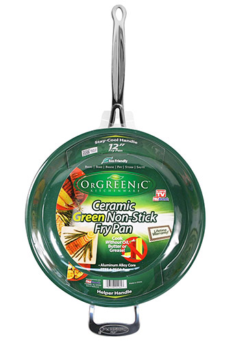 Orgreenic ceramic nonstick cookware