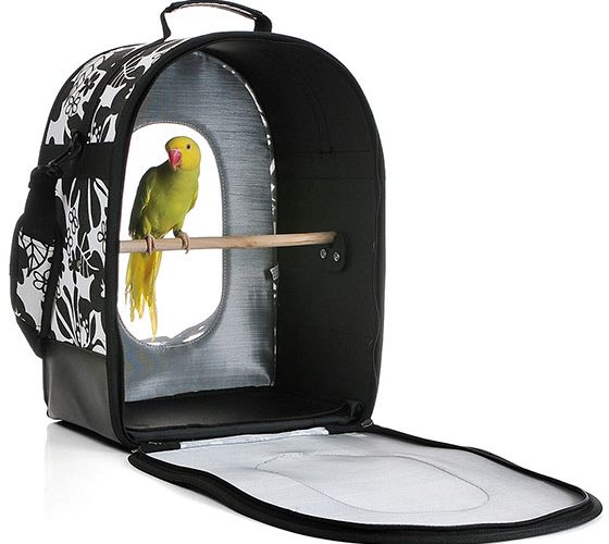 A&E Soft Sided Bird Travel Carrier
