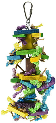 Knots and Blocks bird toy small size